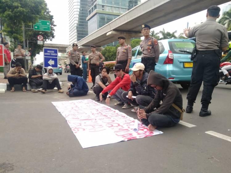 Cemari Lingkungan, Mahasiswa Lebak Tuntut Izin PT. Cemindo Gemilang Dicabut