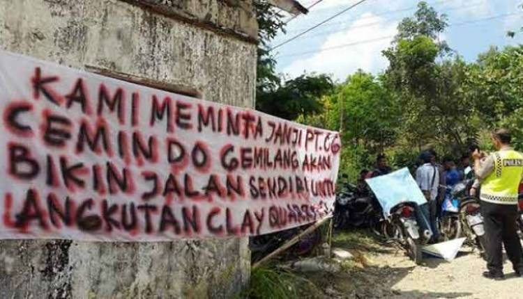 PT Cemindo Gemilang Diduga Buang Limbah ke Sungai, Bupati Lebak Berani Copot Kadis Lingkungan Hidup?