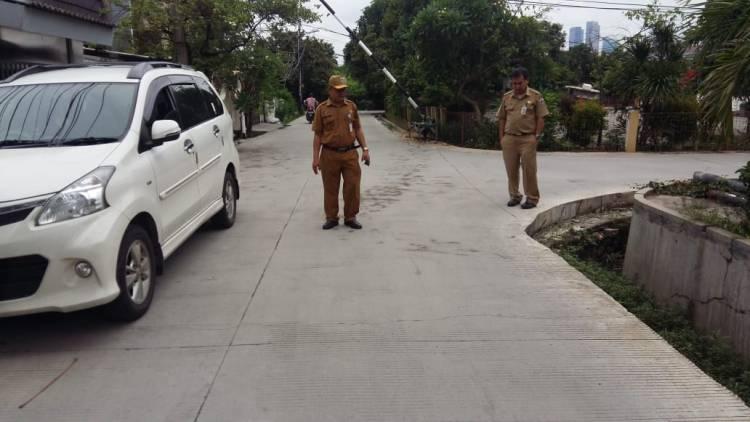 Jalan Rusak, Bina Marga Jakbar Sidang Kontraktor