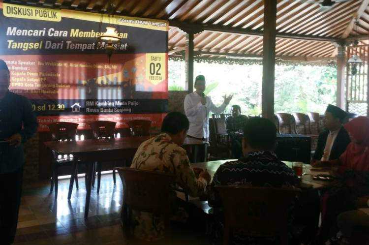 Marak Lokasi Maksiat, Dewan Kemakmuran Masjid Ngeri Tangsel Kena Tsunami