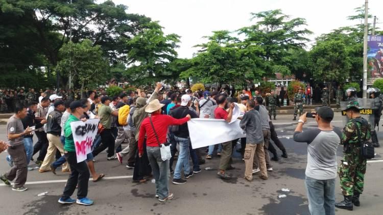 Pemilu 2019 Damai, TNI-Polri Banten Gelar Simulasi Pengamanan
