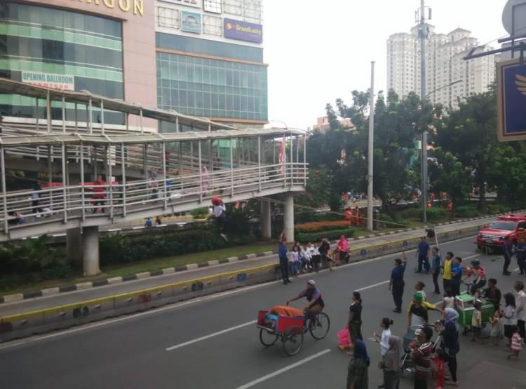 Jalan Gajah Mada Jadi Lokasi CFD, Ribuan Warga Antusias