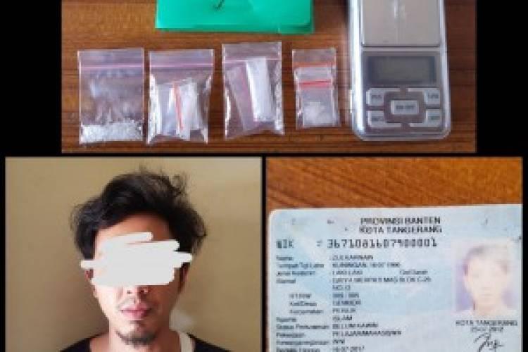 Mahasiswa di Kota TangerangDiborgol, Narkoba dan Timbangan Disita