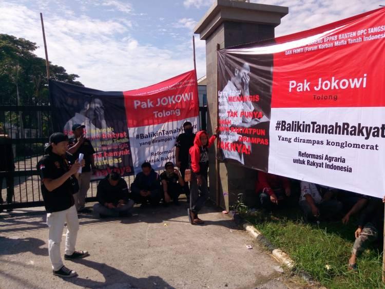 Mengaku Tanahnya Dirampas BSD dan Bintaro Jaya, Warga Minta Tolong Ke Jokowi
