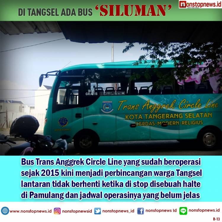 Warga Tangsel Lebih Milih Angkot Daripada 'Bus Siluman'