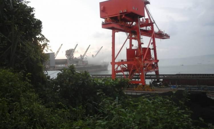 PT Cemindo Akui Polusi Udara Berasal Dari Mesin Converyor yang Bocor
