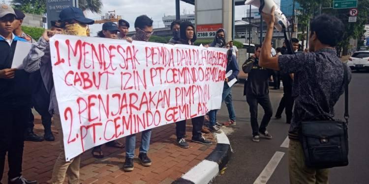 Mahasiswa Lebak Sebut DLHK Banten Tukang Hoax