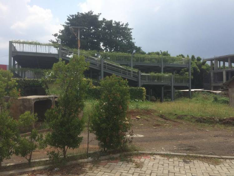 Belum Dibuka Untuk Umum, Belasan Miliar Anggaran Tandon Nusaloka Digondol Maling?