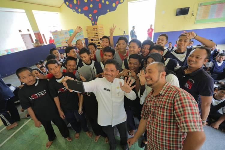 Komunitas Taman Potret Berikan Pelatihan KLJ di Lapas Anak Tangerang