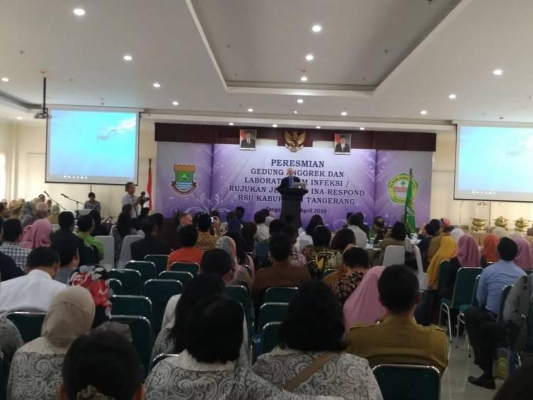 Keren.! RSUD Tangerang Miliki Lab Pendeteksi HIV dan 50 Jenis Penyakit