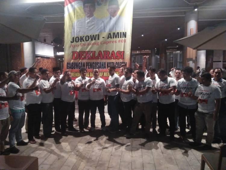 Dukungan Pengusaha Cilegon ke Prabowo Belok Ikut Jokowi