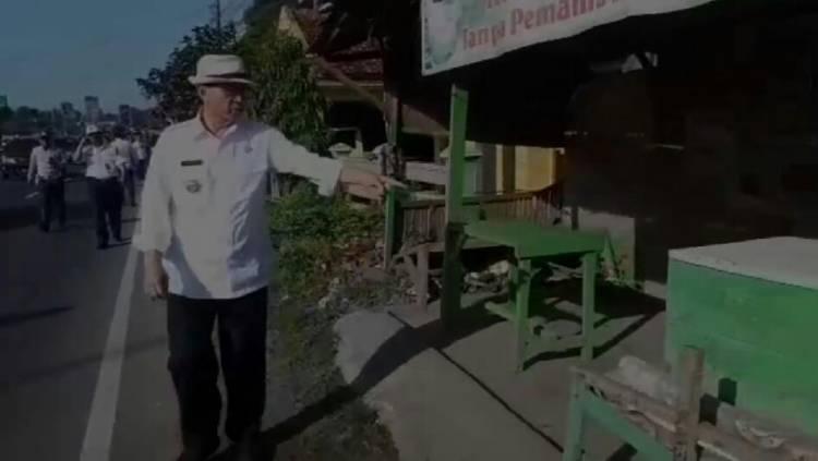 Gubernur 'Koboy' Beraksi Lagi, Jalan Palima - Pakupatan Ingin Dijadikan Jalan Protokol