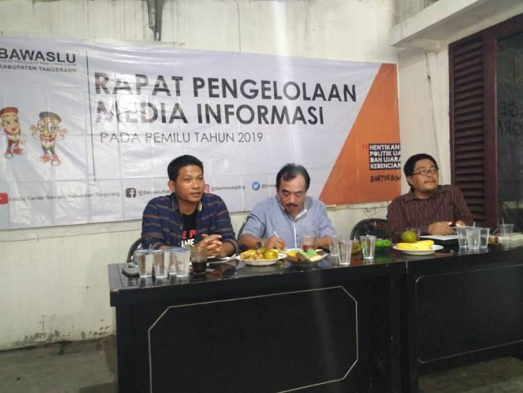 Waduh.! Bawaslu Kabupaten Tangerang Pesimis Hilangkan Money Politik