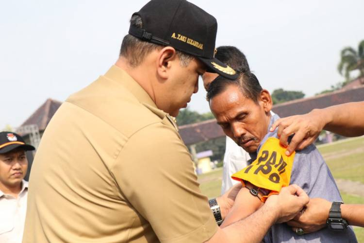 Siaga Pemilu, Zaki : Kab Tangerang Siap Gelar Pemilu Damai dan Bermartabat