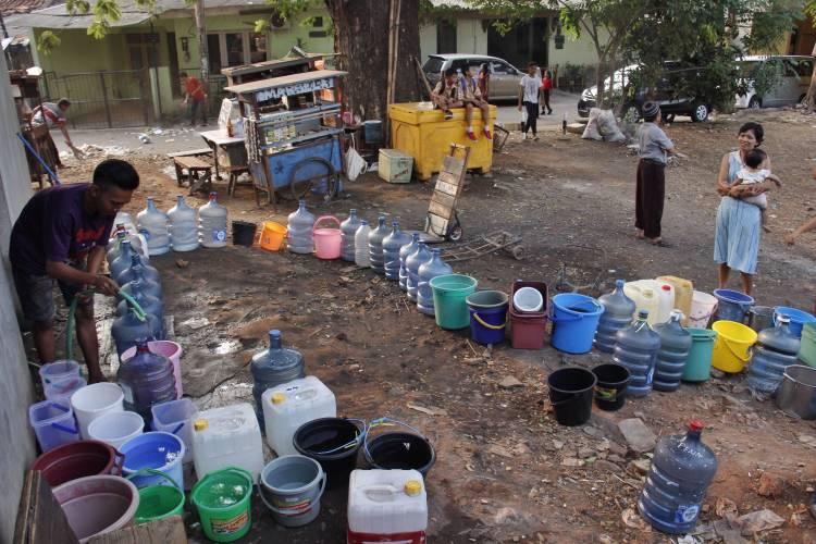 Bangun 200 Sumur Resapan, DLHK Kab Tangerang Antisipasi Krisis Air