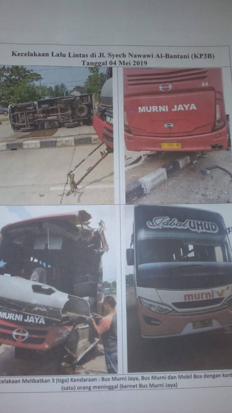 Sering Ugal-ugalan dan Makan Korban, WH Minta Menhub Cabut Izin Trayek Bus Murni