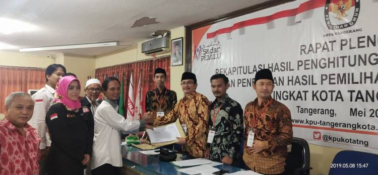 Hitung KPU Tangerang Selesai, Jokowi Kalah di Kota Akhlakul Karimah