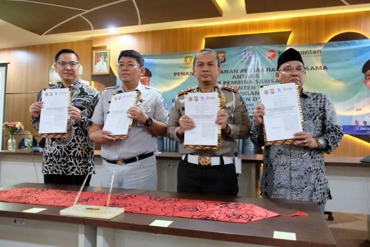 Mudah, Bayar Pajak Kendaraan Bermotor di Banten Bisa Via Alfa dan Indomart