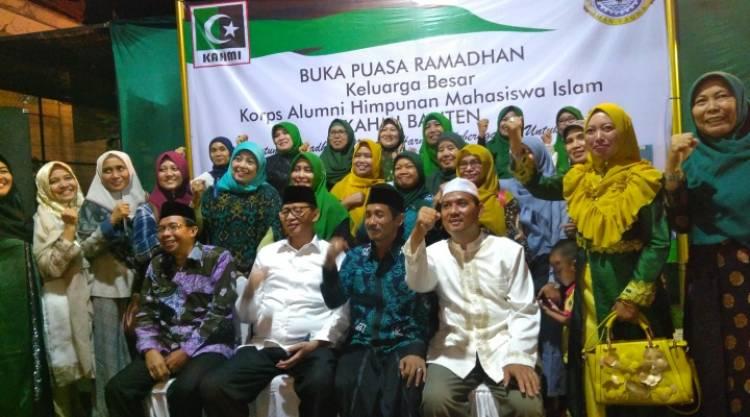 Bukber dengan Gubernur, KAHMI Banten: Perbedaan Biasa, Rajut Keberagaman