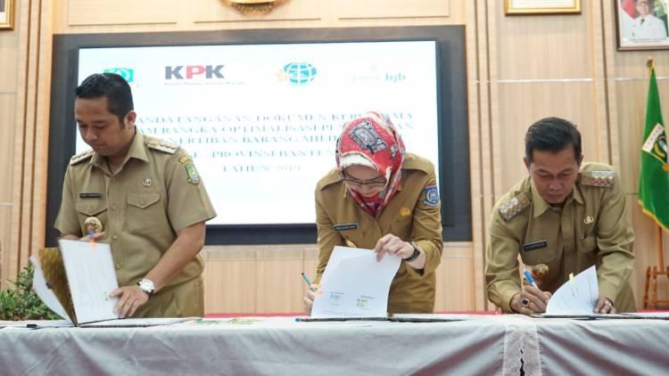 Tingkatkan PAD, WH Gandeng KPK Tertibkan Aset Tanah Pemrov Banten