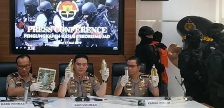 Berencana Serang Aksi Massa 22 Mei, Puluhan Teroris 'Digulung' Densus 88