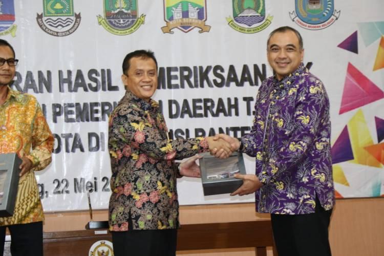 Keren! Pemkab Tangerang Raih WTP 11 Kali Beruntun