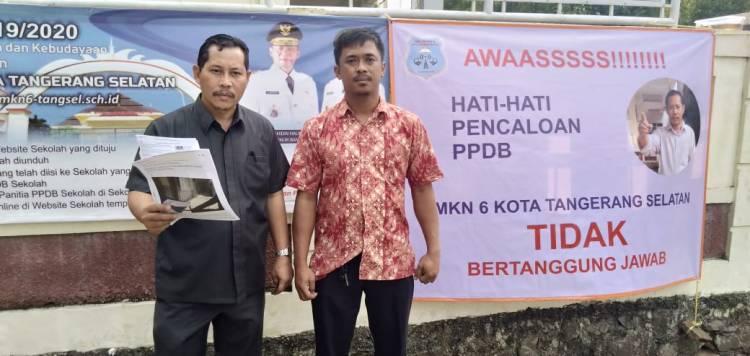 Dugaan Pungli Hingga Dipanggil Inspektorat, SMKN 6 Tangsel Persoalkan Media