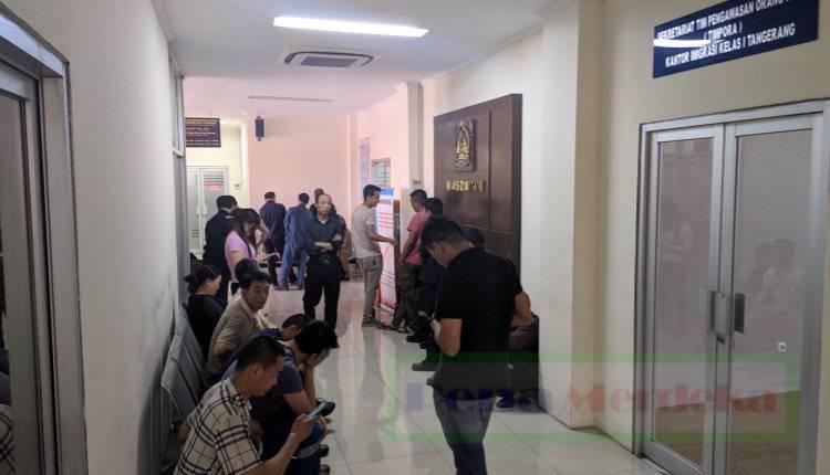 Puluhan WNA China Diamankan Imigrasi dari Pabrik Jatiuwung Tangerang