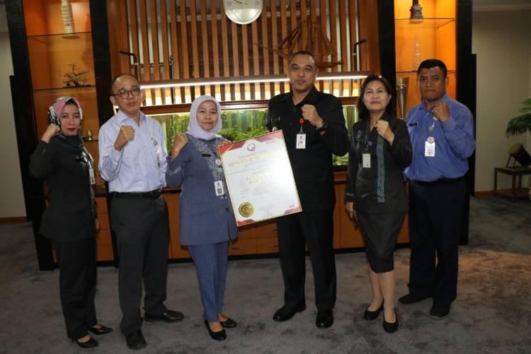 Wow.! RSUD Kab Tangerang Lulus Raih Akreditasi Paripurna Bintang Lima