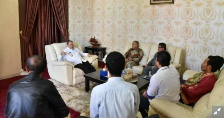 Temui Gubernur WH, PLN UID Banten Minta Maaf