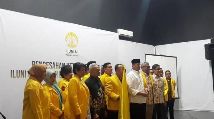 Hadir di Pelantikan ILUNI Banten, Gubernur WH : Pemprov Kebut Pembangunan Pro Kebutuhan Rakyat