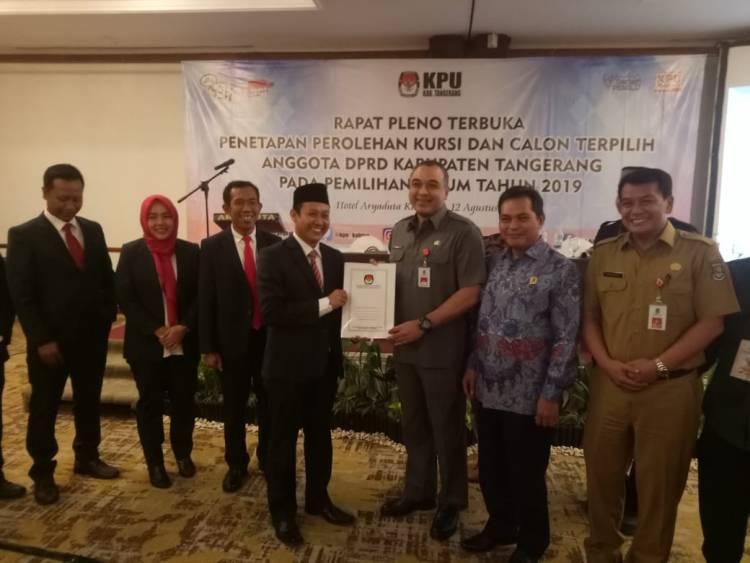 Sah! 50 Anggota DPRD Kab Tangerang Ditetapkan