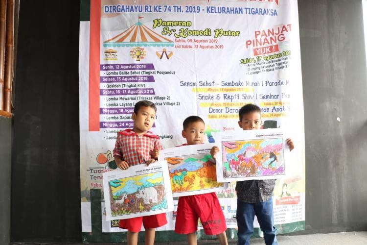 Junjung Kearifan Lokal, Pemuda Tigaraksa Gelar Lomba HUT RI Bertema Badak Banten
