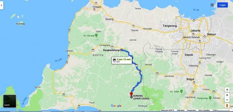 """Genjot Wisatawan Datang, Banten Bangun Infrastruktur """"Negeri di Atas Awan"""""""