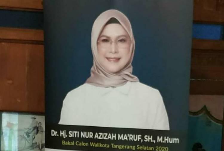 Sudah Gaspol Bentuk Jaringan Pemenangan Cawalkot Tangsel, Siti Nur Azizah: Cuma Silaturahmi