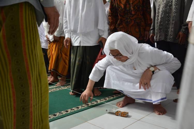 Hadiri Peletakan Batu Pertama Pembangunan Masjid, Bupati Zaki Pesan Simbol Kerukunan