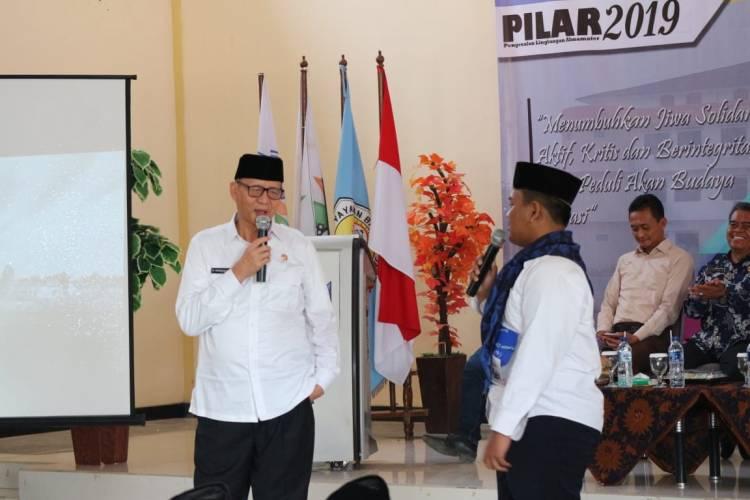 Didepan Civitas Unbaja, WH Sebut Revolusi 4.0 Sejalan Dengan Industri Banten