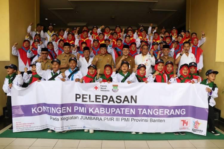 Jumbara Se-Banten, Ini Pesan Sekda Kepada Palang Merah Remaja Kab Tangerang