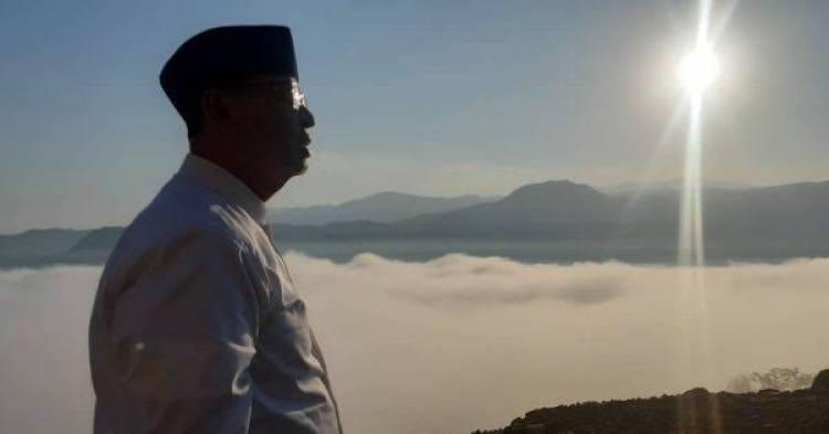Gubernur Banten Bakal Bangun Masjid diNegeri Di Atas Awan