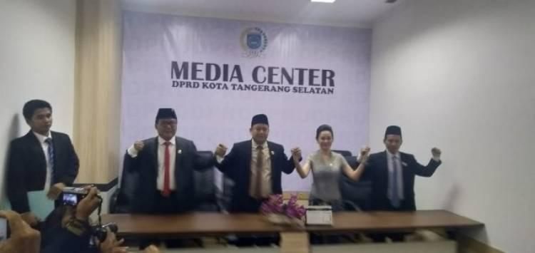 Pimpinan DPRD Tangsel Dilantik, Target Bentuk AKD Segera