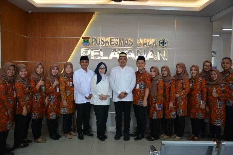 Zaki Resmikan Puskesmas Terbesar di Kab Tangerang