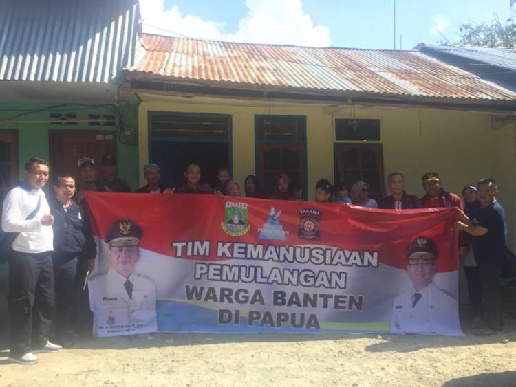 'Pasukan Banten' Tiba Di Jayapura, Langsung Data Warga dan Buka Posko