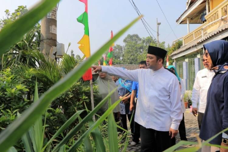Managemen Kontrol, Wali Kota Sambangi Kampung Tematik di Dua Kecamatan