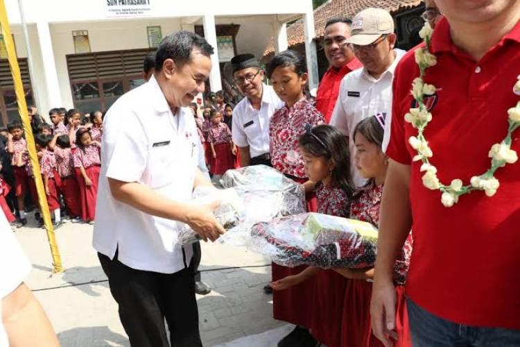 Gandeng PT DKSH, PMI Tangkab Kickoff Sekolah Sehat, Aman dan Hebat