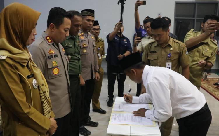 Kapolresta Tangerang Ingatkan Panitia Pilkades Tak Memihak dan Curang