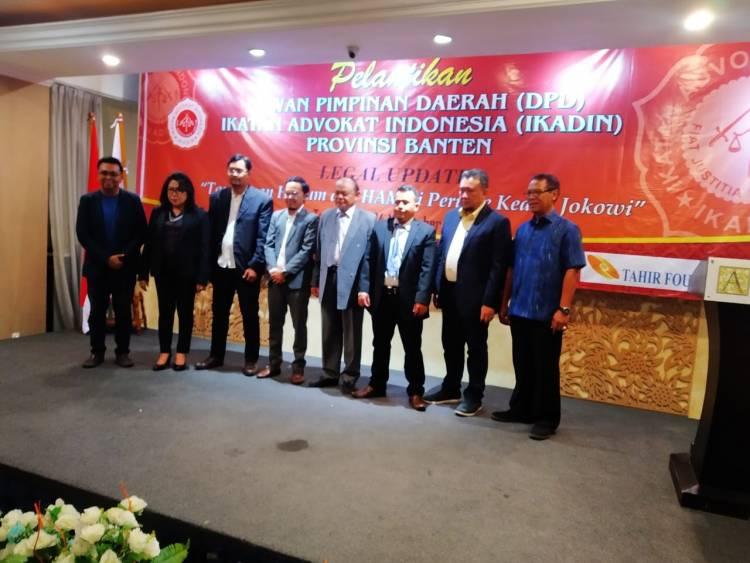 Advokat IKADIN Banten Dilantik