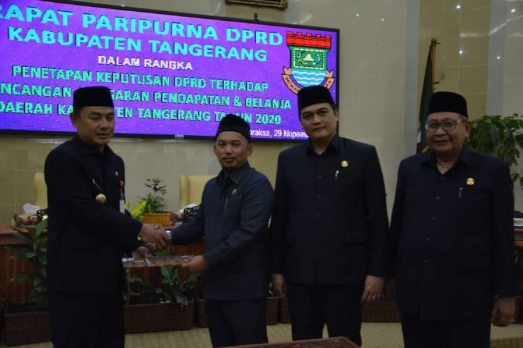 Tok! APBD Kabupaten Tangerang 2020 Rp5,7 Triliun