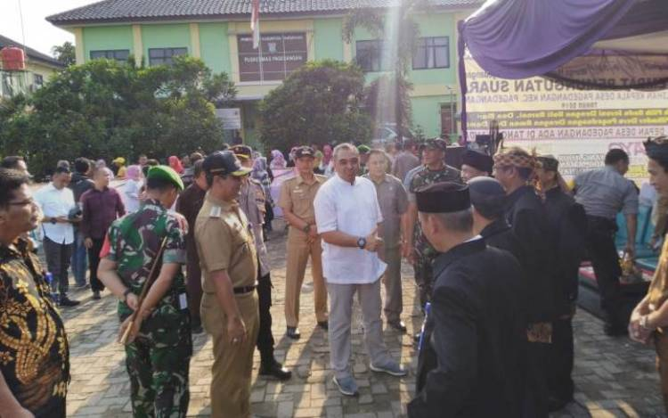 Sebar Anak Buah Seantero Tangerang, Bupati Zaki : Proses Pilkades InsyaAllah Aman dan Lancar