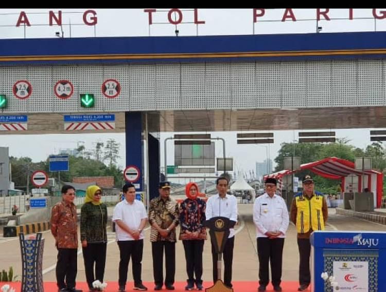 Tol Serpong-Kunciran yang Diresmikan Jokowi Masih Banyak 'Tagihan' Dengan Warga