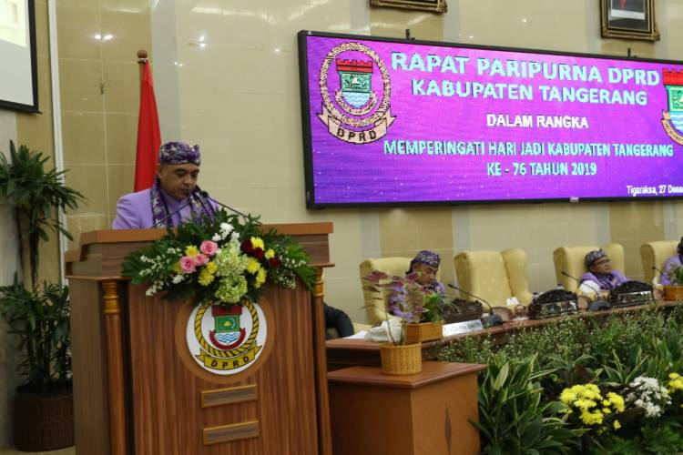 HUT ke-76, Pembangunan di Kabupaten Tangerang Dirasakan Masyarakat, Dewan Dorong Percepatan